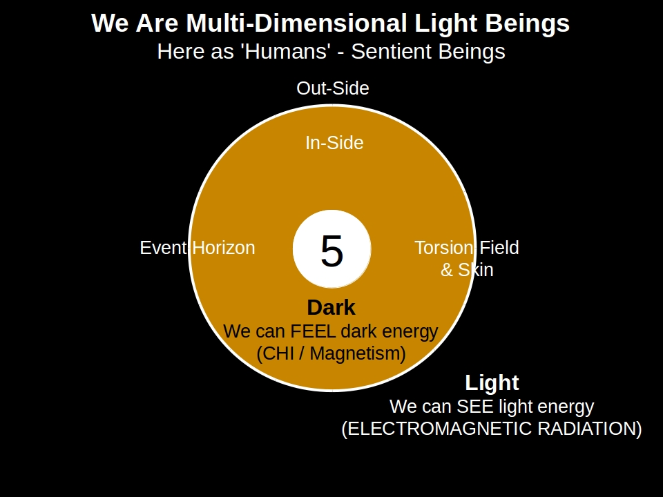 Multi-Dimensional light beings